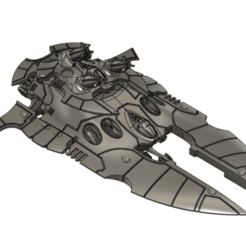 void_cap_a.png Download free STL file Eldar Super-Heavy Tank 4 • 3D print object, Italianmoose