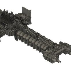 Descargar modelo 3D gratis Barcaza de combate de los Marines Espaciales, Italianmoose