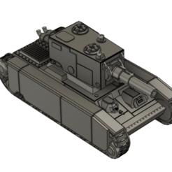 Ragnarok 01.png Download free STL file PDF Heavy Tank 1 • 3D print template, Italianmoose