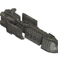 Descargar modelo 3D gratis Crucero Ligero Imperial 2, Italianmoose