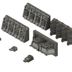 Descargar Modelos 3D para imprimir gratis Baterías de Armas Imperiales, Italianmoose