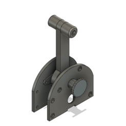 Captura Fusion.PNG Download STL file Joystick Throttle • Template to 3D print, brianwidder
