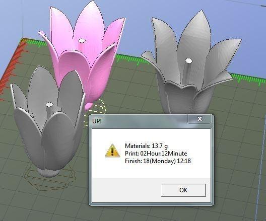 Campanule.JPG Download free STL file Fleurs • 3D print design, Etienne