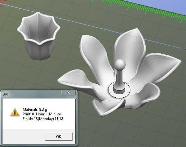 Narcisse.JPG Download free STL file Fleurs • 3D print design, Etienne