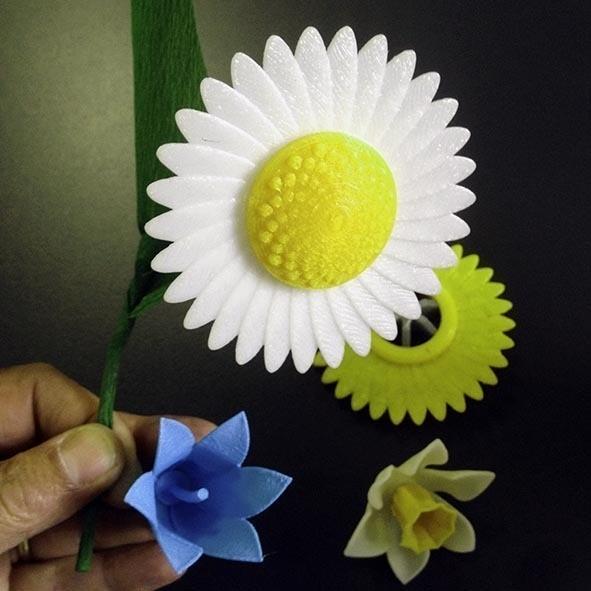 Fleurs_3.jpg Download free STL file Fleurs • 3D print design, Etienne