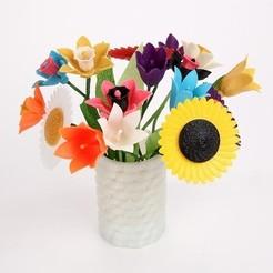 Archivos 3D gratis flores, Etienne