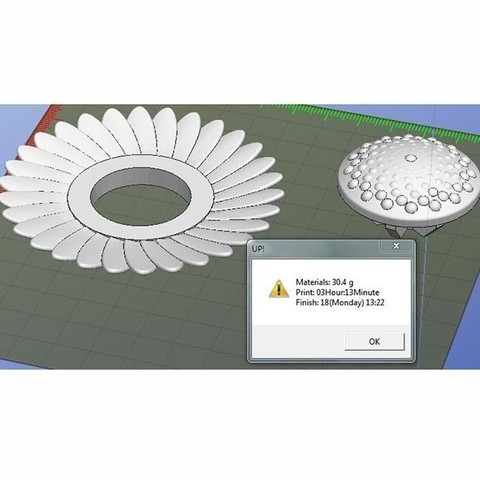 Tournesol.JPG Download free STL file Fleurs • 3D print design, Etienne