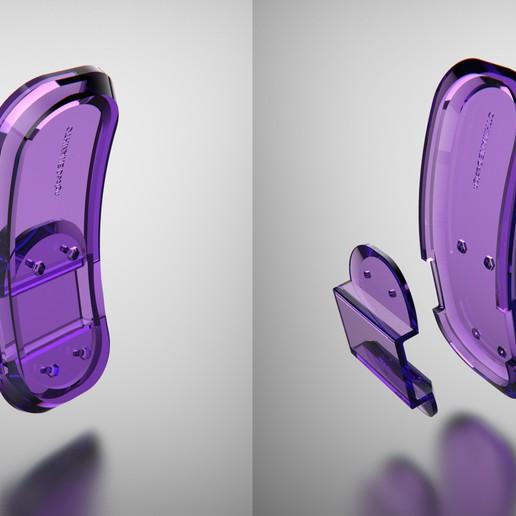 Untitled-8.jpg Download free STL file 3DvsCOVID19 CUSTOM PARAMETRIC Grasshopper Hands Free 3D Printed Door Openers to Help Against the Spread of Coronavirus • 3D print model, Othmane