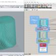 Télécharger fichier STL gratuit Parametric PEN HOLDER with Grasshopper télécharger gratuitement le paramètre • Plan pour impression 3D, Othmane
