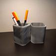 Descargar archivo STL gratis PEN HOLDER paramétrico con Grasshopper descargar parámetro libre • Diseño para la impresora 3D, Othmane