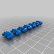 Télécharger fichier STL gratuit Pistes pour les orques de l'espace/réservoirs d'ork - 17 mm de large • Modèle imprimable en 3D, Daedle