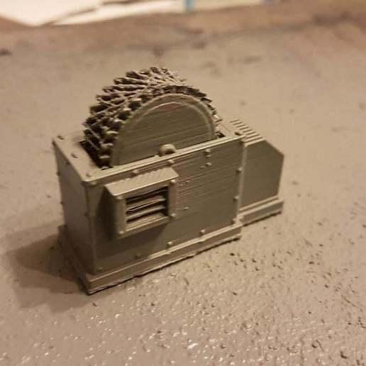 18491360_715628601931804_5366292638584694907_o.jpg Download free STL file Machine thingy terrain • 3D printable template, Daedle