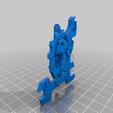 Télécharger fichier STL gratuit Haut de la bannière Space Ork/Orc • Objet pour imprimante 3D, Daedle