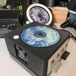 20210122_231523.jpg Télécharger fichier STL gratuit Boîtier de CD/DVD GameCube pleine grandeur • Modèle pour imprimante 3D, noycebru
