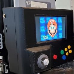 Download free 3D printing templates noyce64 -- handheld Nintendo 64, original console no emulators. , noycebru