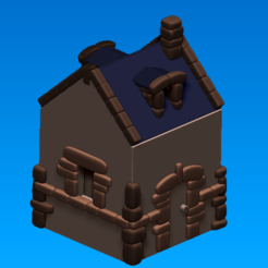 Télécharger fichier STL gratuit Maison • Design à imprimer en 3D, buzz-blob