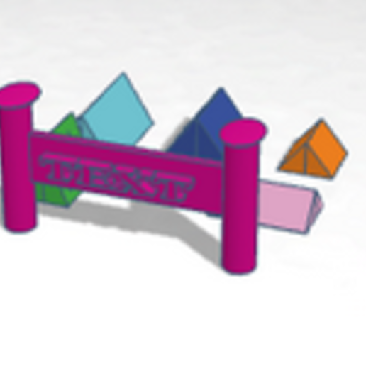 campement.PNG Download free STL file camp • 3D printing object, buzz-blob