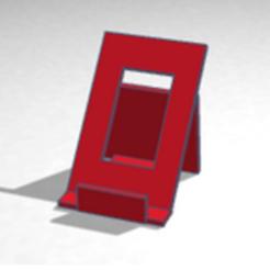 Télécharger fichier STL Support telephone • Modèle pour imprimante 3D, buzz-blob