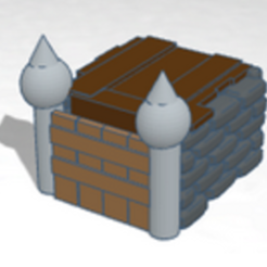Download free 3D print files castle, buzz-blob