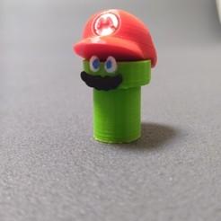 Télécharger fichier STL gratuit Tuyau Mario • Modèle pour impression 3D, buzz-blob