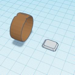 anneau.PNG Télécharger fichier STL gratuit anneau a diamant • Design à imprimer en 3D, buzz-blob
