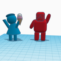 Download free 3D printing models Mr. and Mrs., buzz-blob