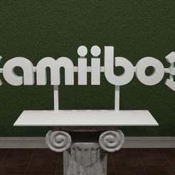 Amb-Logo.jpg Download free STL file Amiibo Logo • 3D printer design, AwesomeA