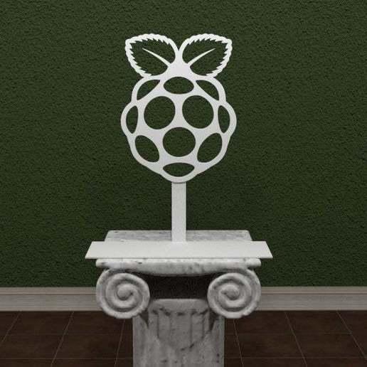 raspberry-Pi-Logo.jpg Download free STL file Raspberry Pi Logo • Model to 3D print, AwesomeA