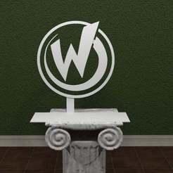 Wizard-World.jpg Télécharger fichier STL gratuit Logo du Monde des Magiciens • Plan pour imprimante 3D, AwesomeA