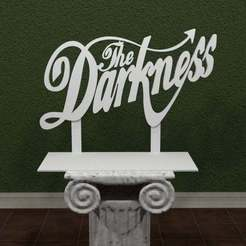 thedarkness-logo.jpg Download free STL file The Darkness Logo • 3D printer model, AwesomeA