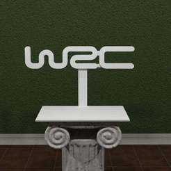 WRC.jpg Download free STL file World Rally Championship Logo • Model to 3D print, AwesomeA