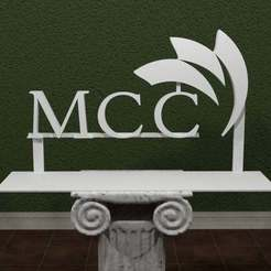 Download free 3D printing files McHenry County College Logo, AwesomeA