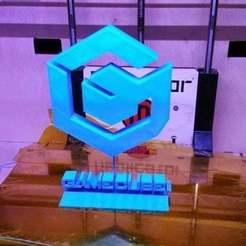 20150210_064246[1_preview_featured[1.jpg Télécharger fichier STL gratuit GameCube - Logo • Design à imprimer en 3D, AwesomeA
