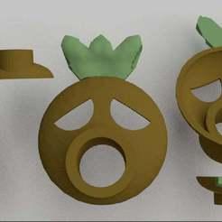 Deku_Mask.jpg Télécharger fichier STL gratuit Masque Deku • Design pour imprimante 3D, AwesomeA