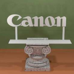Canon-Logo.jpg Download free STL file Canon Logo • 3D printable design, AwesomeA