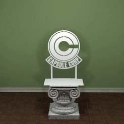 Descargar diseños 3D gratis Logotipo de la cápsula, AwesomeA