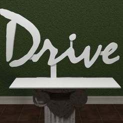 Drive_Logo.jpg Download free STL file Drive Logo • Object to 3D print, AwesomeA