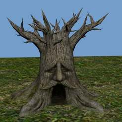 Deku_Tree2.jpg Télécharger fichier STL gratuit Grand vase en forme d'arbre Deku • Design à imprimer en 3D, AwesomeA