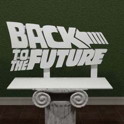 backtothefuture.jpg Download free STL file Back To The Future Logo • 3D printing object, AwesomeA