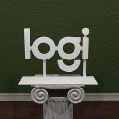 Logi.jpg Download free STL file Logi Logo • 3D printable design, AwesomeA