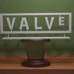 Valve_Logo.jpg Télécharger fichier STL gratuit Logo de la vanne • Objet à imprimer en 3D, AwesomeA