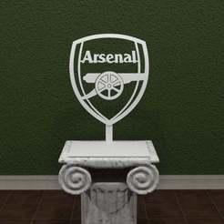 arsenal-logo.jpg Download free STL file Arsenal Logo • 3D printable model, AwesomeA