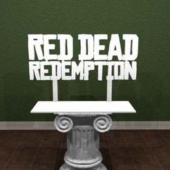 Download free 3D printer designs Red Dead Redemption Logo, AwesomeA