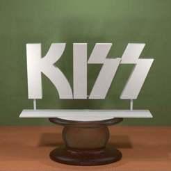 Descargar archivos 3D gratis Logotipo del beso, AwesomeA