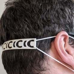 IMG_20200410_140734_1.jpg Download STL file Mask Band Hook -  Ear Relief • 3D printer design, AwesomeA