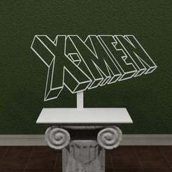 Xmen.jpg Download free STL file X-Men Comic Logo • 3D printing object, AwesomeA