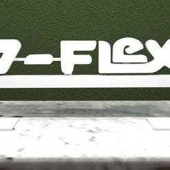 zflex.jpg Download free STL file Z-Flex Logo • 3D printing design, AwesomeA