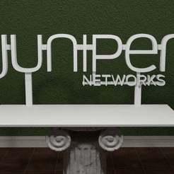 jup-networks-logo.jpg Download free STL file Juniper Networks Logo • Object to 3D print, AwesomeA