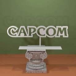 CAPCOM-Logo.jpg Download free STL file CAPCOM Logo • 3D printable design, AwesomeA