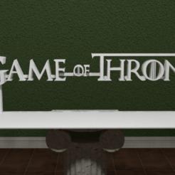 game_of_thrones-logo.png Download free STL file Game of Thrones Logo • 3D printing design, AwesomeA